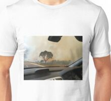 Bushfire, Boco Siding, Tasmania, Australia (2) Unisex T-Shirt