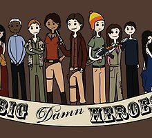 Big Damn Heroes by Seinn