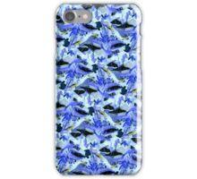 Blue Birds of Pararadise iPhone Case/Skin