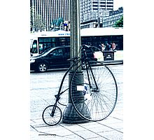 Bicycle for Experts Photographic Print