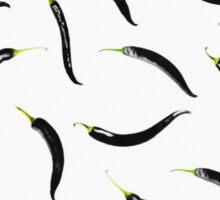 black chili peppers Sticker
