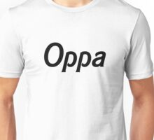 Oppa - Black Unisex T-Shirt