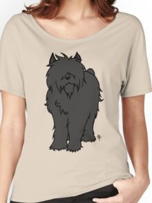 Bouvier des Flandres - Black Women's Relaxed Fit T-Shirt