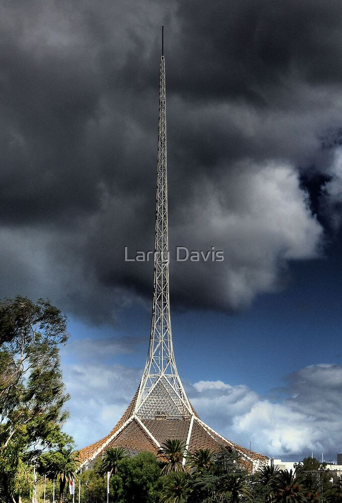 What Looms Above. by Larry Lingard-Davis