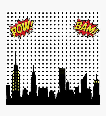 Superhero Scape Photographic Print
