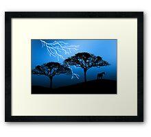 971 Framed Print