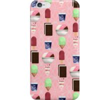 Frozen Sweets Pink iPhone Case/Skin