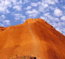 Uluru Climb by Michael John