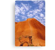 Uluru Climb Canvas Print