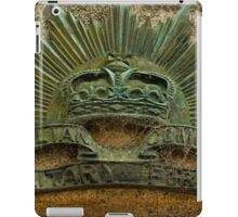 Australian Commonwealth Military Forces Badge - Marong, Victoria iPad Case/Skin