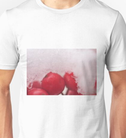 Berries in the Snow, As Is Unisex T-Shirt