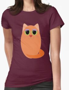 CAT MARMALADE ONE Womens Fitted T-Shirt