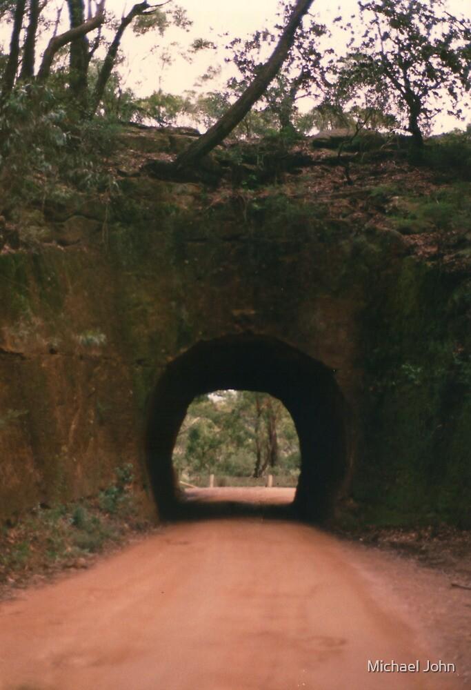 Rock Tunnel by Michael John