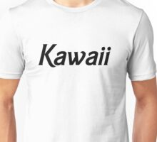 Kawaii - Black Unisex T-Shirt