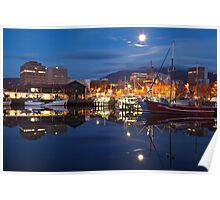 Victoria Dock, Early Morning Poster