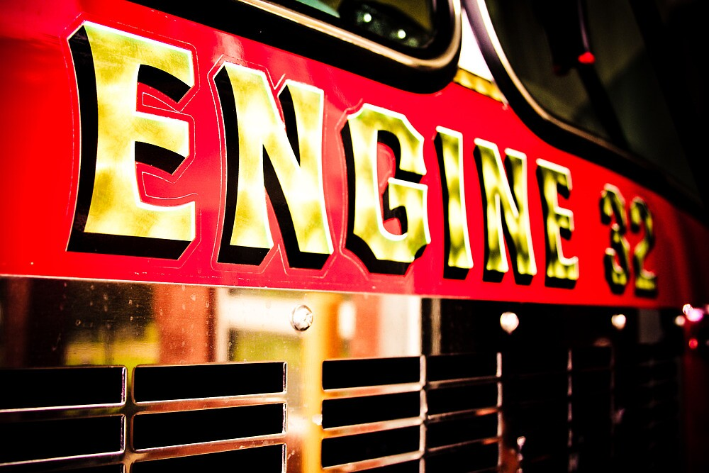 Engine 32 by Alicia Roberts
