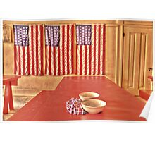 Fort Delaware Dining Hall Poster