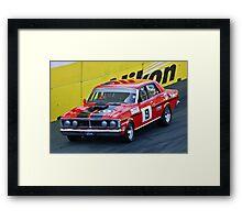 Allan Moffat Ford Falcon GTHO Framed Print