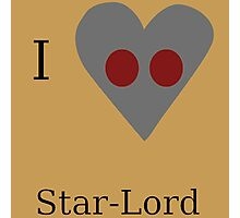 I Heart Star-Lord Photographic Print