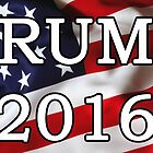 Donald Trump For President 2016 Stickers, Shirts, Skins, Cases, Mugs, Poster by 8675309