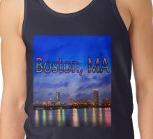 Harvard Bridge, colorful reflection Tank Top