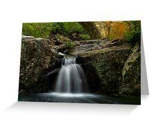 Crystal Creek Falls - Below the bridge - Paluma Range Greeting Card