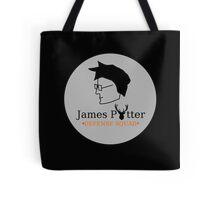 James Potter Defense Squad- Black background Option Tote Bag