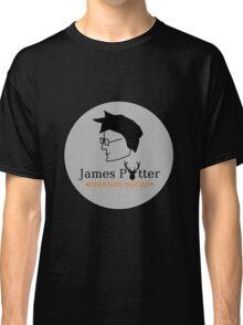 James Potter Defense Squad- Black background Option Classic T-Shirt