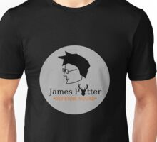 James Potter Defense Squad- Black background Option Unisex T-Shirt