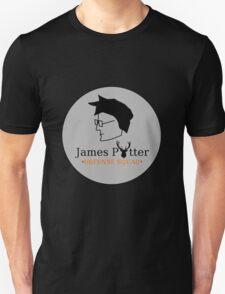 James Potter Defense Squad- Black background Option T-Shirt