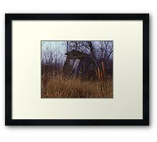 Abandoned Out House Framed Print