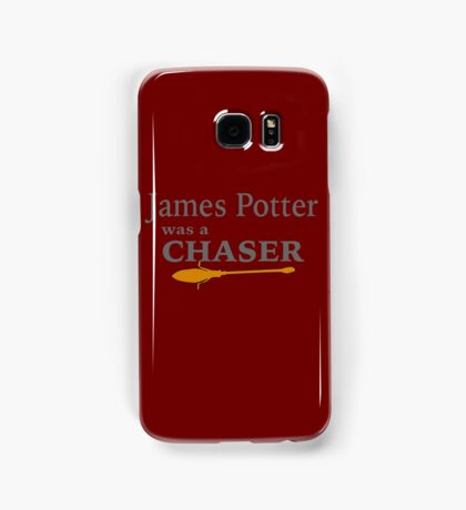 James Potter was a Chaser Samsung Galaxy Case/Skin