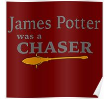 James Potter was a Chaser Poster