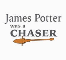 James Potter was a Chaser Baby Tee