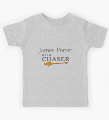James Potter was a Chaser Kids Tee
