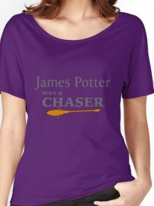 James Potter was a Chaser Women's Relaxed Fit T-Shirt
