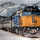 """Canadian"" VIA 6411 by Rick Ruppenthal"