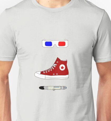 Tenth Doctor Minimalist Piece Unisex T-Shirt