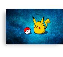 Pudgie Pikachu Canvas Print