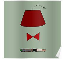 11th Doctor Minimalist Piece Poster