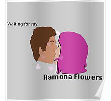 Waiting for my Ramona Flowers Poster