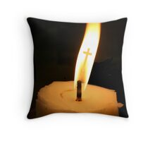 FLAME OF HOPE Throw Pillow