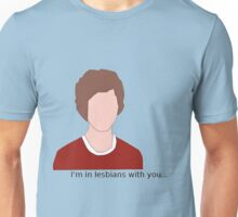 Scott Pilgrim- I'm in lesbians with you Unisex T-Shirt