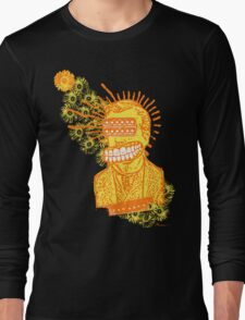 Happy Humbucker Head Long Sleeve T-Shirt