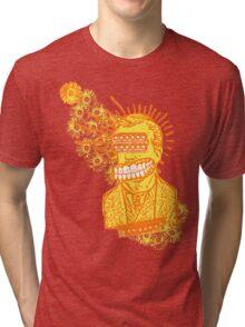 Happy Humbucker Head Tri-blend T-Shirt