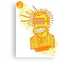 Happy Humbucker Head Canvas Print