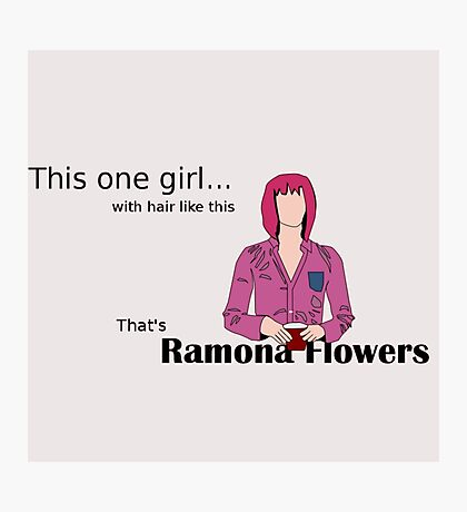 That's Ramona Flowers Photographic Print