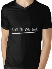 Until the Very End Mens V-Neck T-Shirt