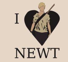 I Love Newt T-Shirt