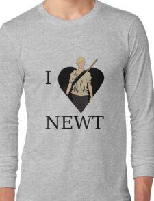 I Love Newt Long Sleeve T-Shirt